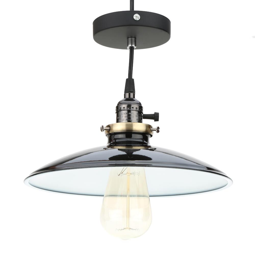 Metal Pendant Lighting Lixada Metal Reminisced Pendant Light Lamp E27 Loft Vintage Retro