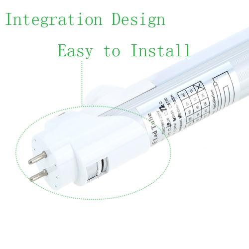 Lixada Energy Saving Pir Infrared T8 60cm Led 10w